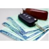 licenciamento de auto